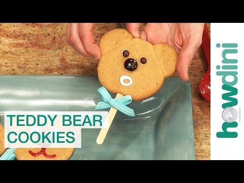 How to make cookies: Teddy bear cookies