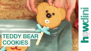 How to make cookies: Teddy bear cookies thumbnail