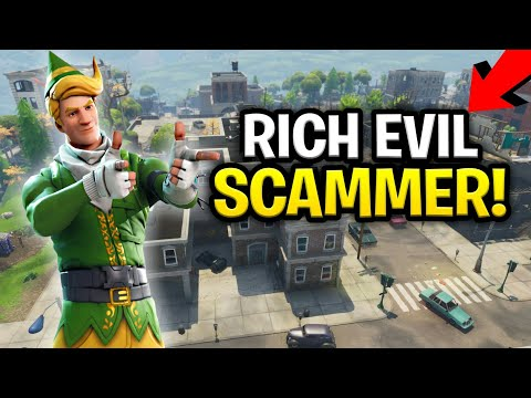 Insanely Rich Squeaker Scams Himself! (130s?) (Scammer Get S