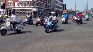 Cleethorpes Scooter Rally, 2013.