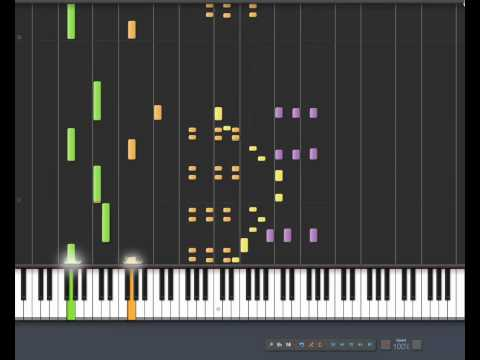 Synthesia - Benny Hill Theme