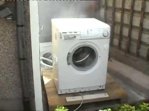 washing machine brick gif