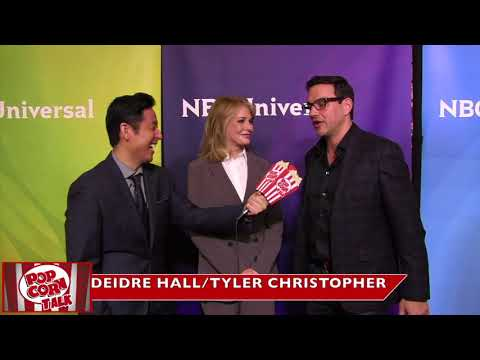 Tyler Christopher on working with Deidre Hall.