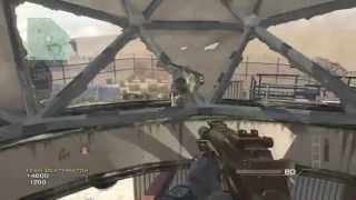 MW3 GLITCH: OUT OF MAP DOME!