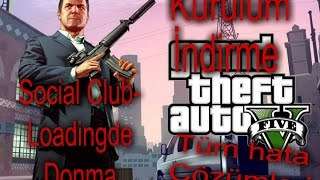 GTA 5(PC)(Grand Theft Auto V) İndirme Kurulum Yükleme Tüm Hata Çözümleri