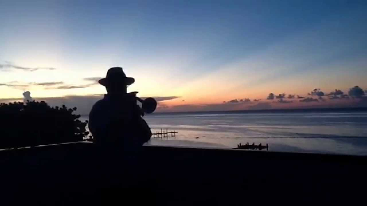 Somewhere Over The Rainbow By Jazz Trumpeter Stan Engle Playing On Rooftop Of Beach Grill