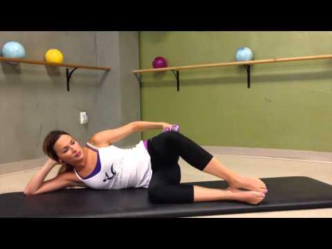 Pilates 10 min Leg Series