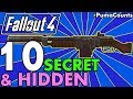 Top 10 Best Hidden or Secret Guns and Weapon Locations in Fallout 4 #PumaCounts