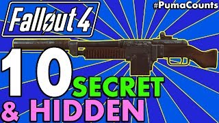 Top 10 Best Hidden or Secret Guns and Weapon Locations in Fallout 4 PumaCounts