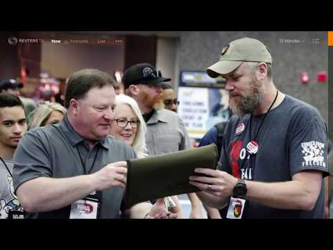 Gun Dynamics Featured in Reuters Article about NRA Dallas 18