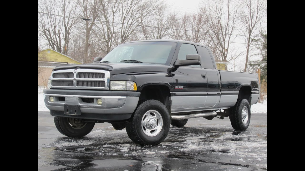 2001 Dodge Ram 2500 Cummins Diesel 4x4 Sold Youtube
