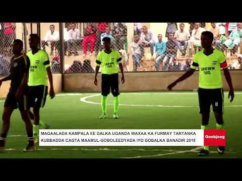 Magaalada Kampala ee Dalka Uganda waxaa ka furmay tartanka kubbadda cagta Maamul-Goboleedyada