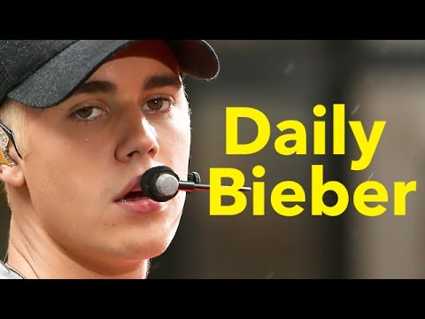 Justin Bieber Caught Secretly Recording New Music - VIDEO