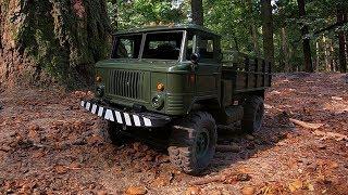 Тест 2-х Скоростной Коробки на WPL B-24 GAZ-66