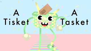 A Tisket A Tasket A green And Yellow Basket Song Lyrics - Sing Along for kids