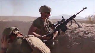Marine sniper Kills Taliban with m82, Live footage