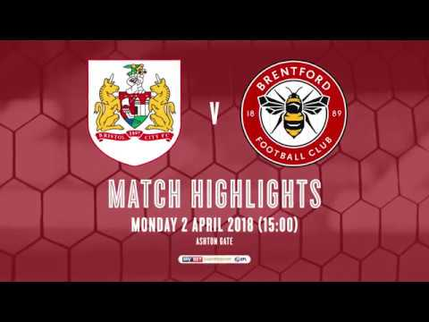 2017/18 HIGHLIGHTS: Bristol City 0-1 Brentford