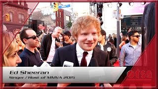 Much Music Video Awards 2015 hosted by Ed Sheeran