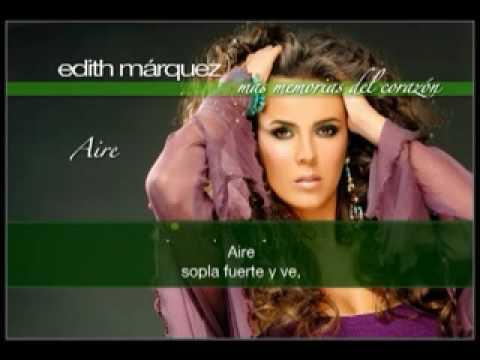 EDITH MÁRQUEZ Karaoke AIRE