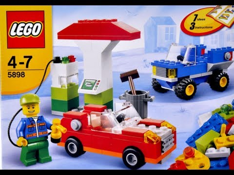 How To Build Lego Lego 5898 Lego Cars Building Set Instructions