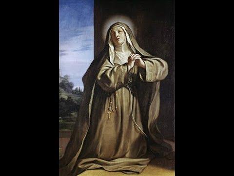 Santa Margarida de Cortona e as almas do purgatorio -14 de novembro