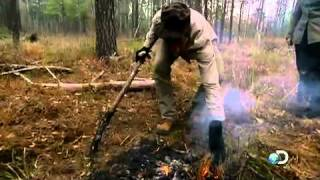 Man Woman Wild Using Fire To Fight Wildfires