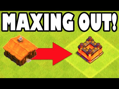Clash of Clans - MAXING BASE OUT 100%