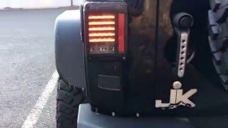 installed the ace engineering rear bumper jw speaker 279 j series tail lights led lights jeep jk