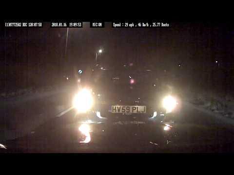 CRASH FOR CASH INSURANCE CLAIM VOLVO V50 HV59 PLJ INDUCED COLLISION