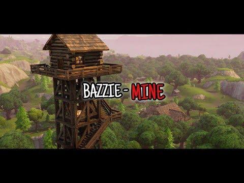 """BAZZIE  """"MINE""""  / FORTNITE MONTAGE EDIT"""