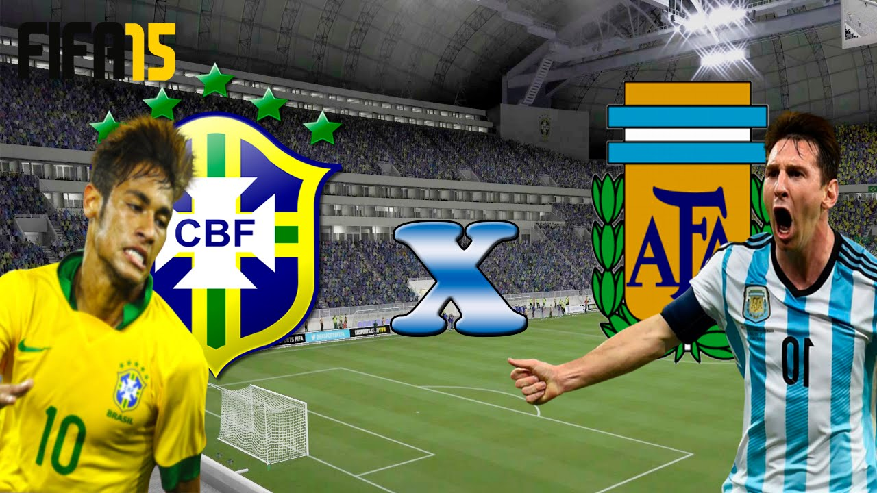 Resultado de imagem para brasil x argentina 2016