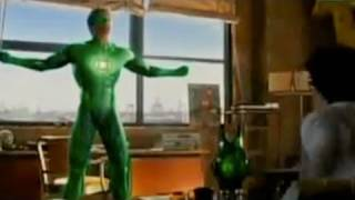 Green Lantern Movie Trailer 2011, The Dark Knight Rises 2012, Superman Reboot 2012