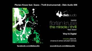 Florian Kruse feat. Saara - Thrill (Instrumental) - Dieb Audio 006