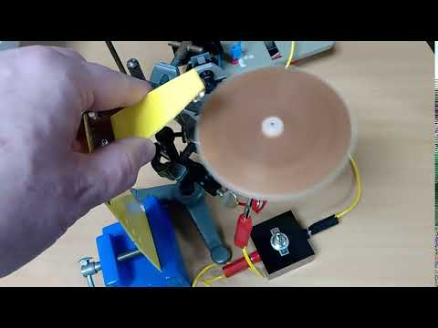 Lenz's Law Spinning Copper