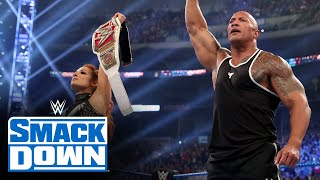 Download Mp3 The Rock And Becky Lynch Humble King Corbin: Smackdown, Oct. 4, 2019 Gudang lagu