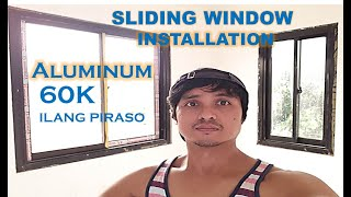 60K SLIDING WINDOW ILANG PIRASO