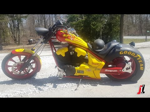 Carography with Joey Logano Episode 2: Custom 22 Bike