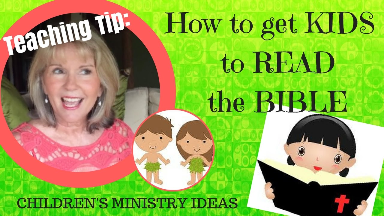 HOW to get KIDS to READ the BIBLE (Adam & Eve story - GENESIS 2 & 3)