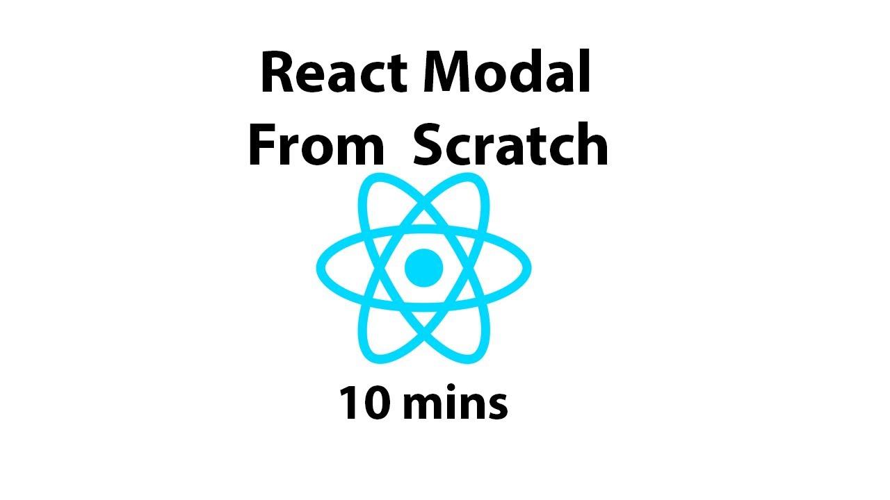 React Modal From Scratch