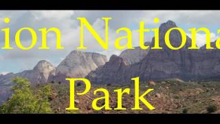 RV sightseeing Sand Hollow St George Zion National Park