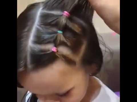 Cách bối tóc cho bé yêu cực xinh