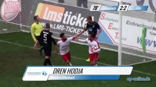OFC gegen SSV Ulm 1846 Fußball: Tore und Höhepunkte