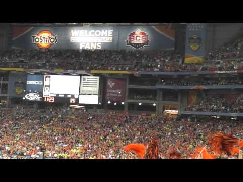 Eagle Flight at Auburn BCS Championship Game 2011
