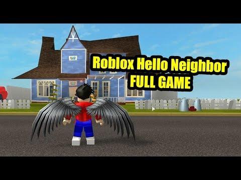 Roblox Hello Neighbor FULL GAME
