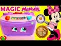 Disney Minnie Mouse Magical Toy Stove Learn Foods and Counting Baking Oven Surprises