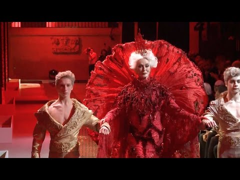 Chinese Designer Guo Pei Presents Fashion Show During Paris Haute Couture Week