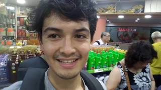 HK VLOG26c Cat in a pharmacy:藥房 with aunty Eng:French:廣東話 Cantonese