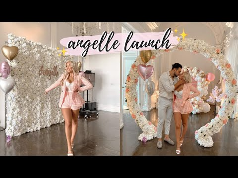 PARTY WITH ME! Angelle Collection Launch AW19 | Weekend Vlog | Elle Darby