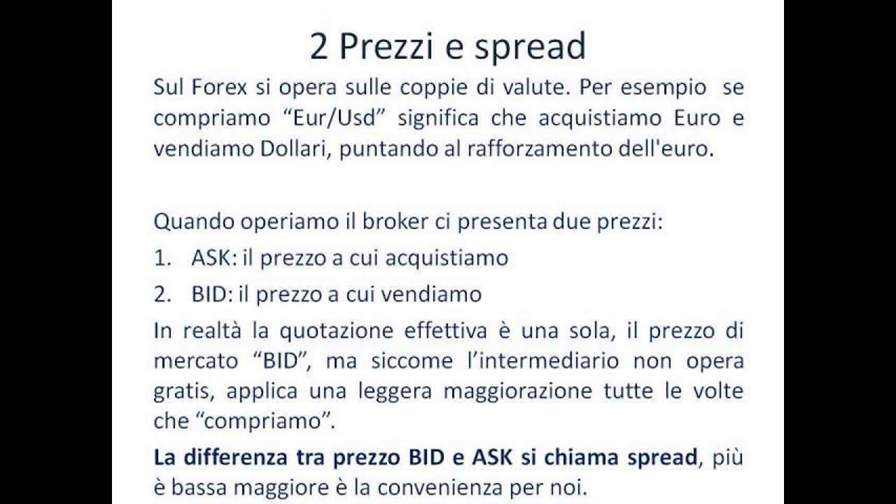 Forex con broker italiani