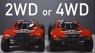 Which is Best: 2WD or 4WD? Traxxas Slash Short Course Trucks